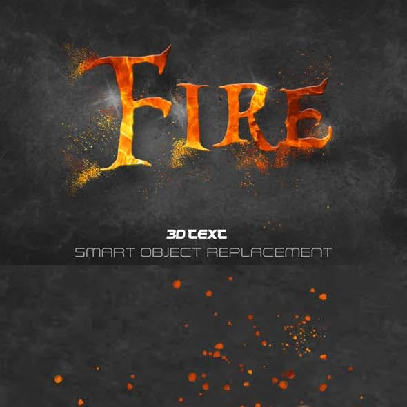 Fire Text Effect Styles