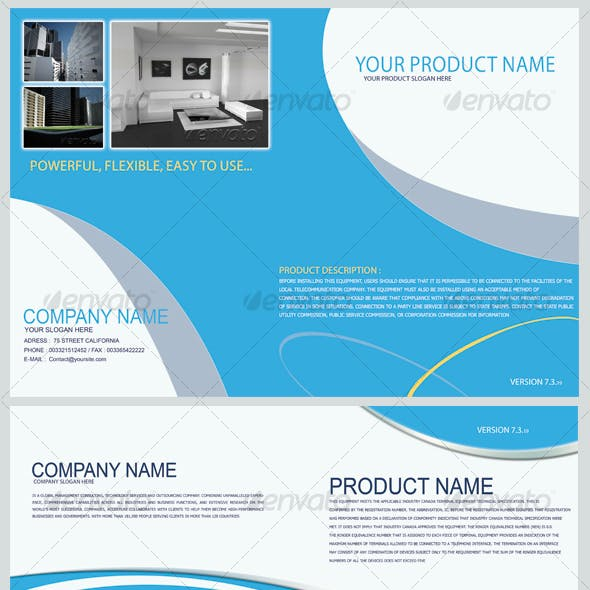 Product Show Brochure