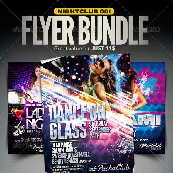 Nightclub Flyer Bundle | 001