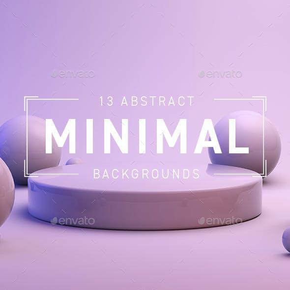 3D Minimal Backgrounds