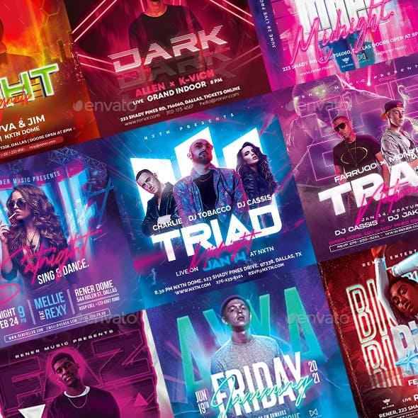 10 DJ Party Instagram Bundle