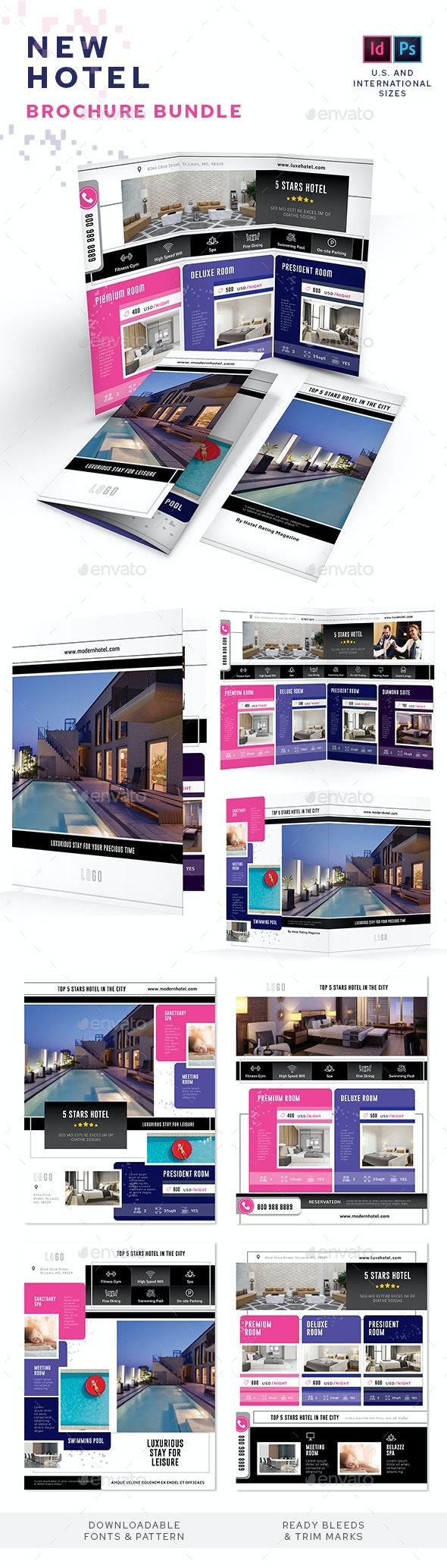 New Hotel Print Bundle - Informational Brochures