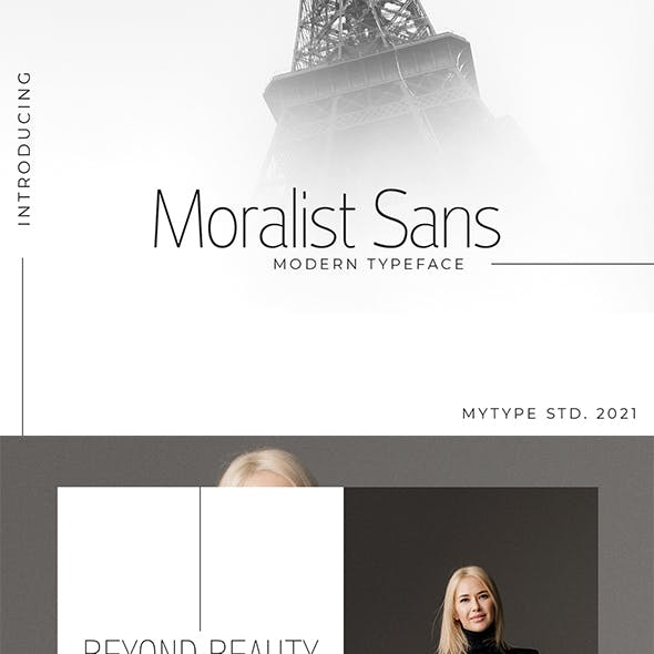 Moralist Sans