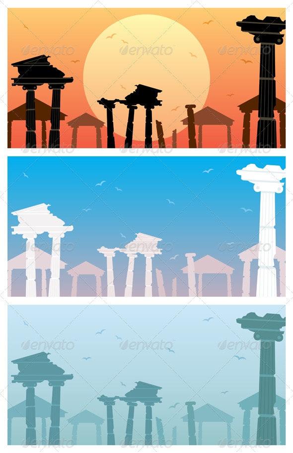 Ruins - Backgrounds Decorative