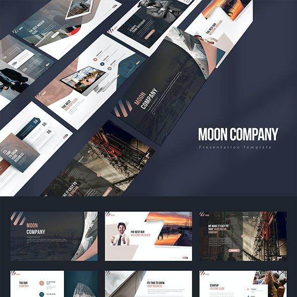 Moon Company PowerPoint