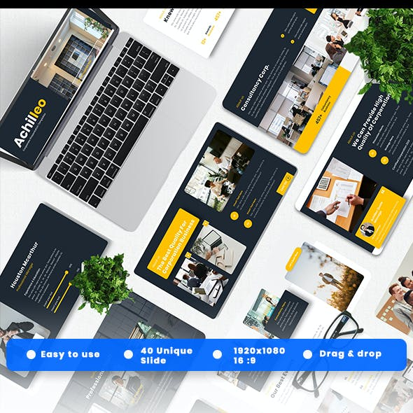 Achilleo - Corporate Powerpoint Template