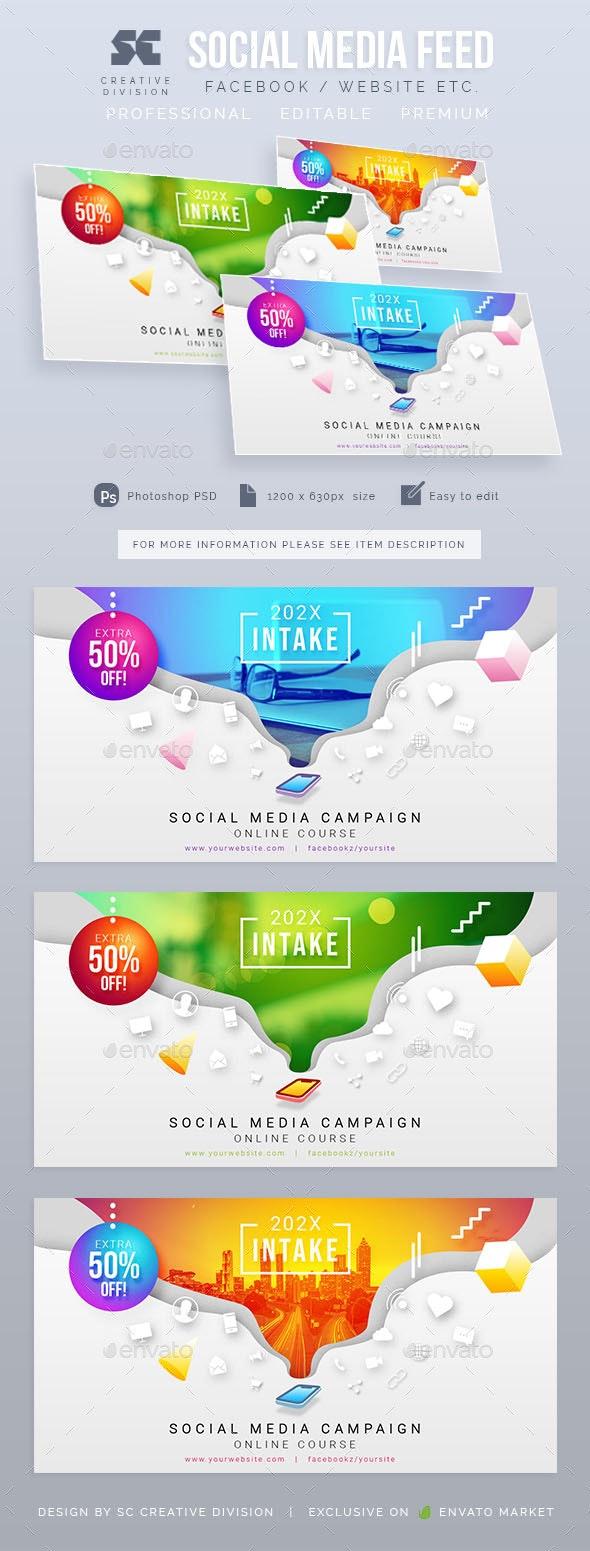 Multipurpose Social Media Post - Social Media Web Elements