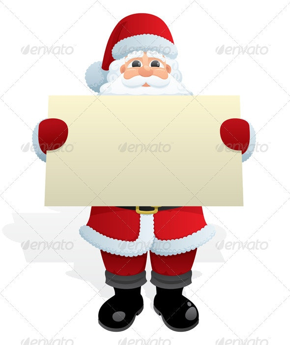 Santa Message - Christmas Seasons/Holidays