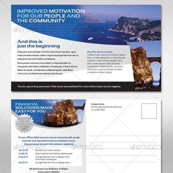 Postcard Corporate Style Flyer