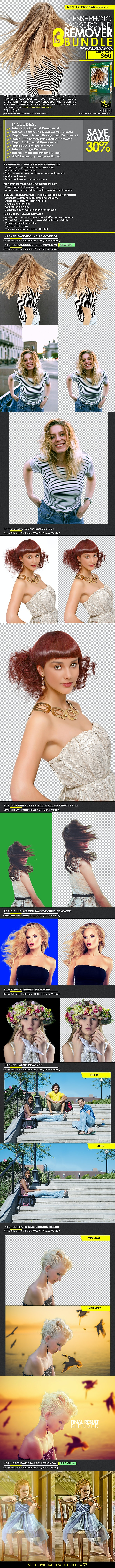 Intense Photo Background Remover Bundle - Utilities Actions