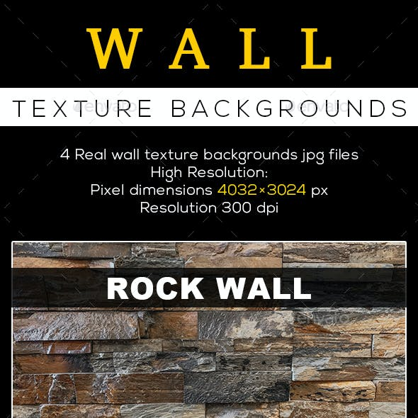 4 Wall texture backgrounds