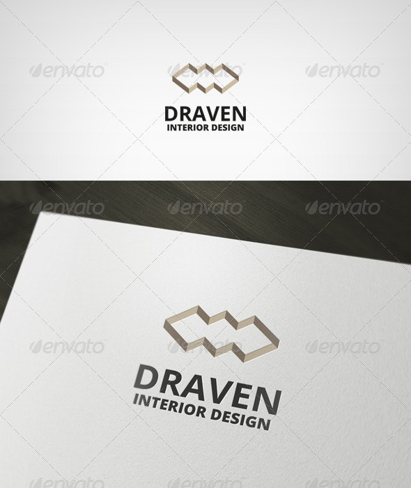 Draven Logo - Vector Abstract