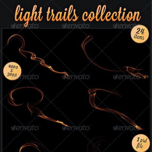 Light Trails Collection - 24 pack