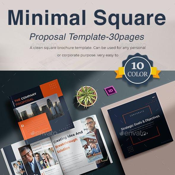 Minimal Square Proposal