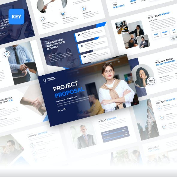 Project Proposal - Corporate Business Keynote Template