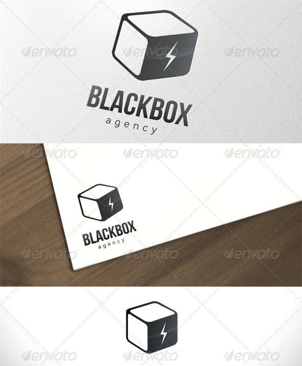 Black Box Agency Logo Template - Objects Logo Templates