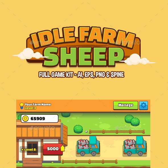 Idle Game Farm Sheep