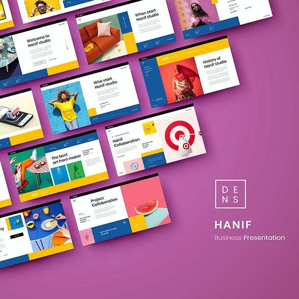 Hanif – Business PowerPoint Template