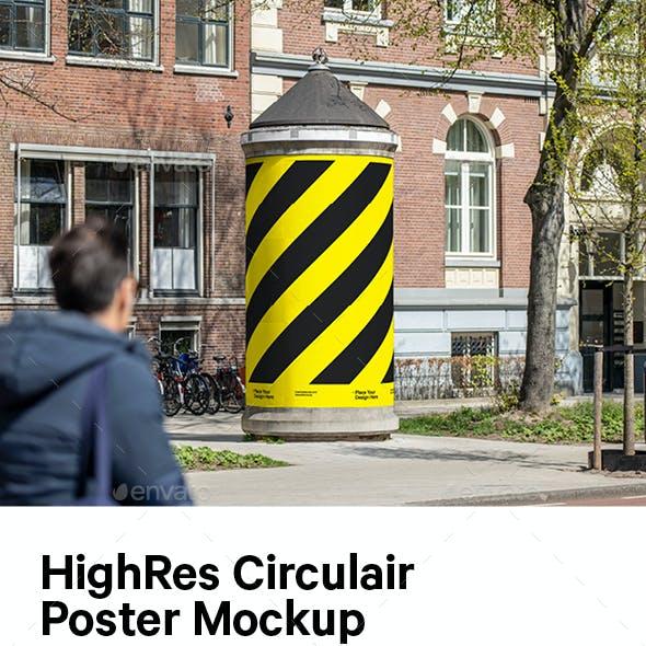 Circulair Poster Mockup Pack