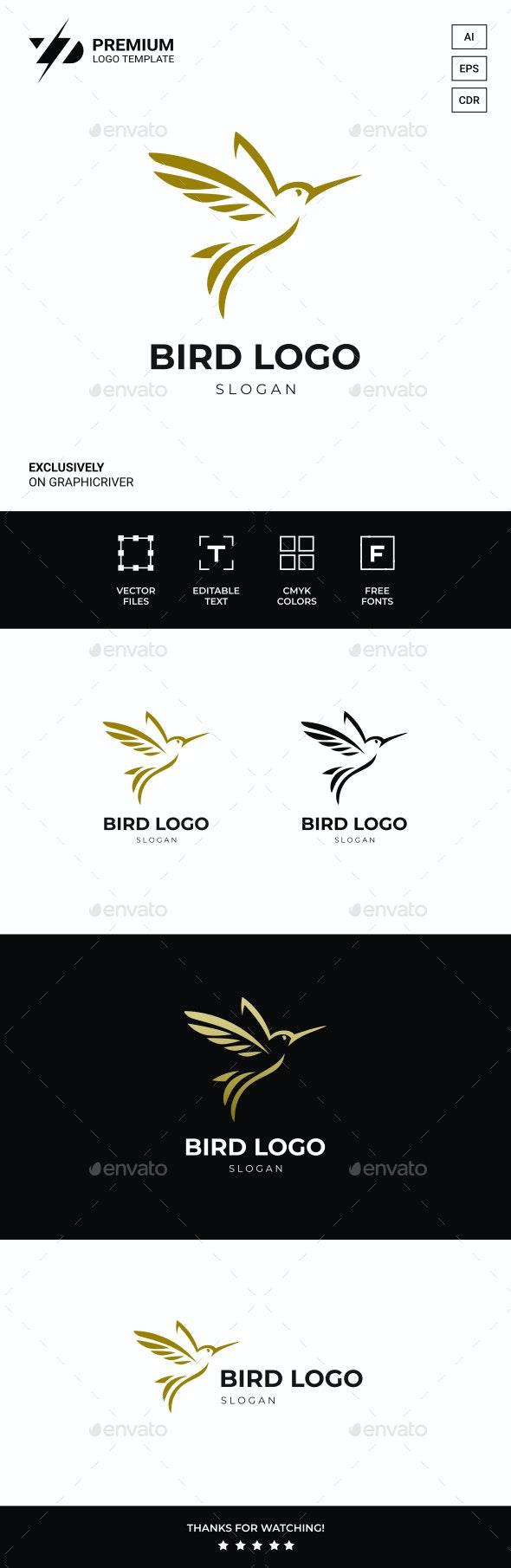 Bird Logo - Animals Logo Templates