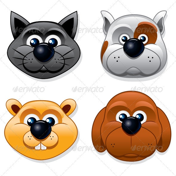 Domestic Pet - Animals Characters