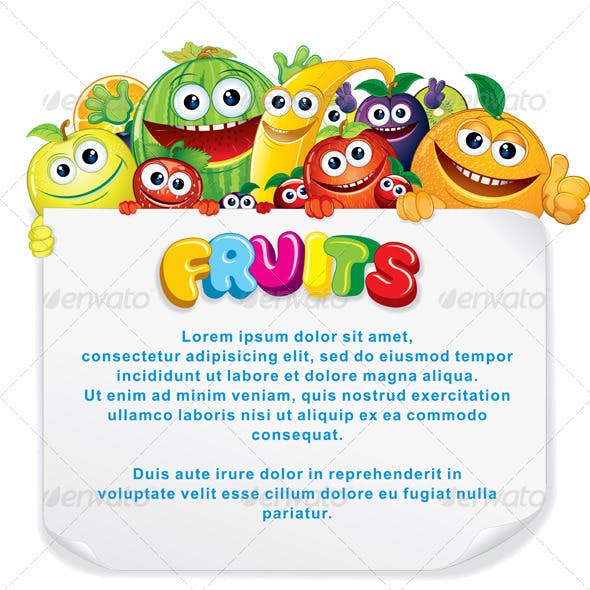 Fun Fruit Sign