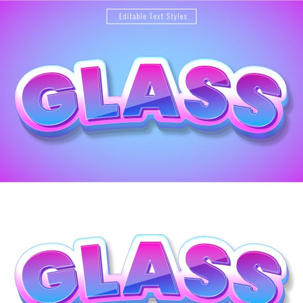 """This is Editable """"3D Cartoon Text Effects"""" for Illustrator"""