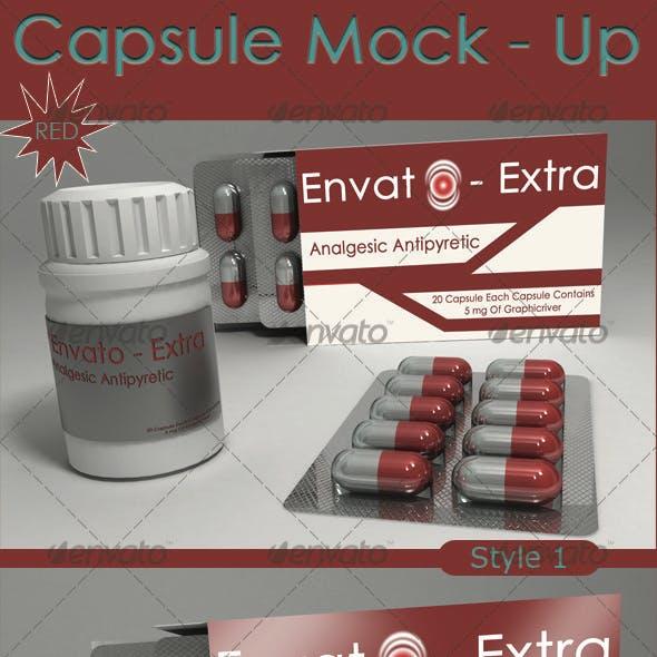 Capsule  Mock - up