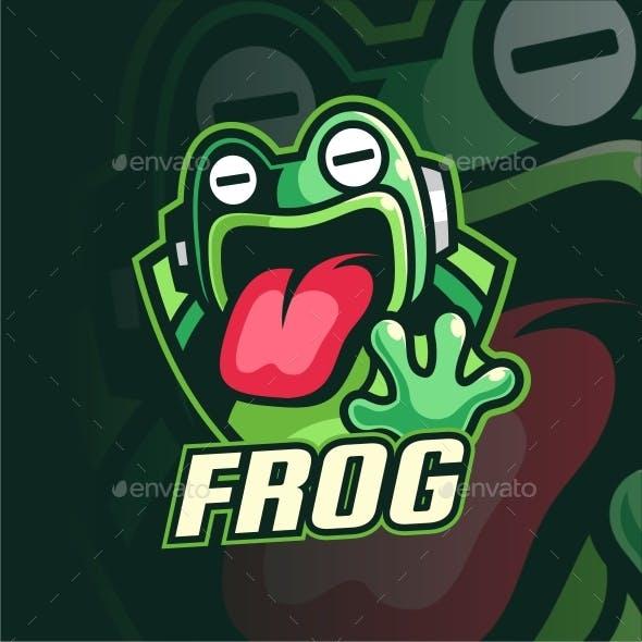 Frog Gaming logo design