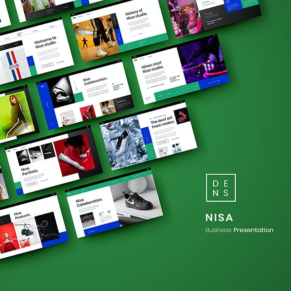Nisa – Business PowerPoint Template