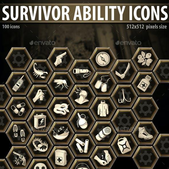 Survivor Ability Icons