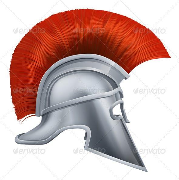 Ancient Greek Warrior Helmet By Krisdog Graphicriver