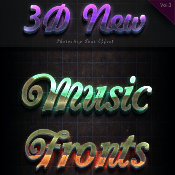 3D Text Effect Vol 3