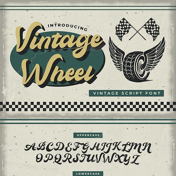 Vintage Wheel – Vintage Script Font