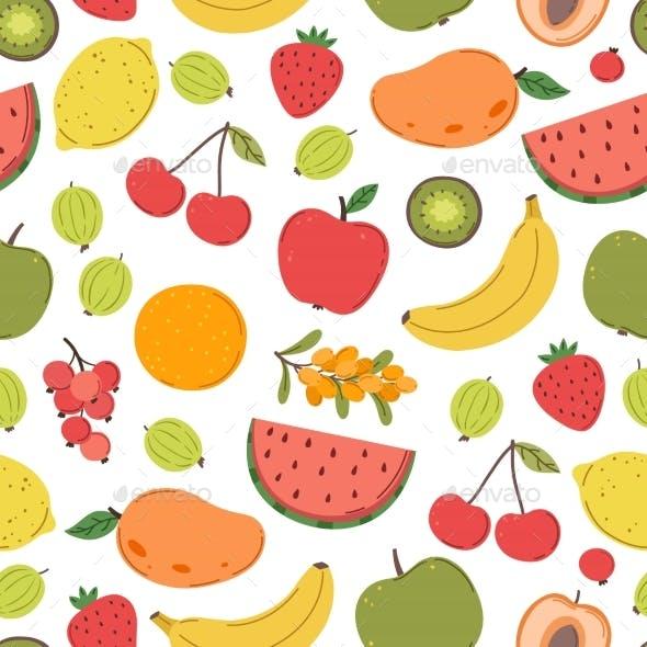 Juicy Fruits Pattern
