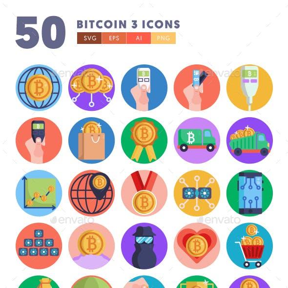 50 Bitcoin Icons