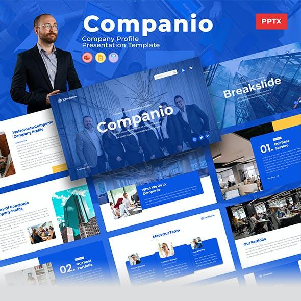 Companio – Company Profile Powerpoint Template