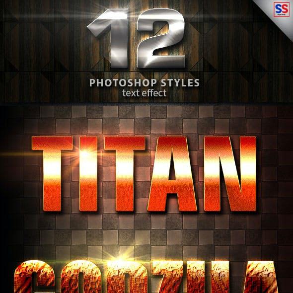 12 Light Photoshop Text Effect Vol 26