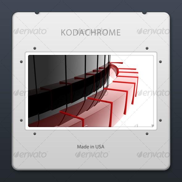 35 mm Presentation Slide - Photo Templates Graphics