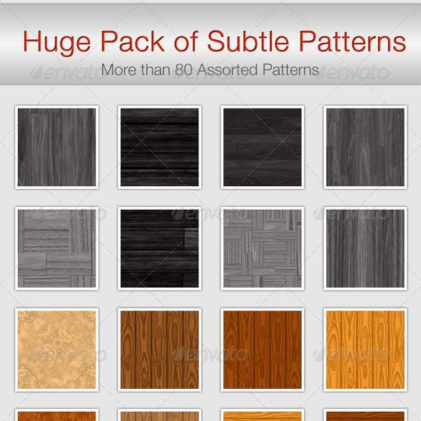 Huge Pack of Subtle Patterns
