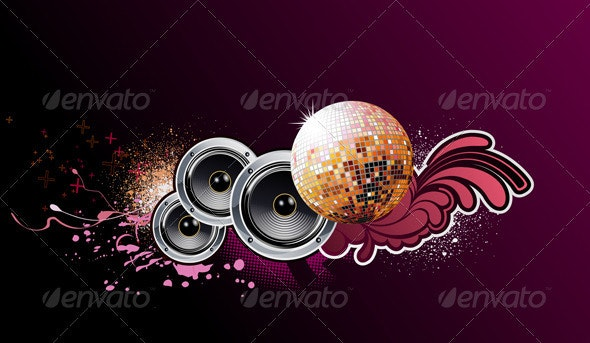 Abstract party background - Seasons/Holidays Conceptual