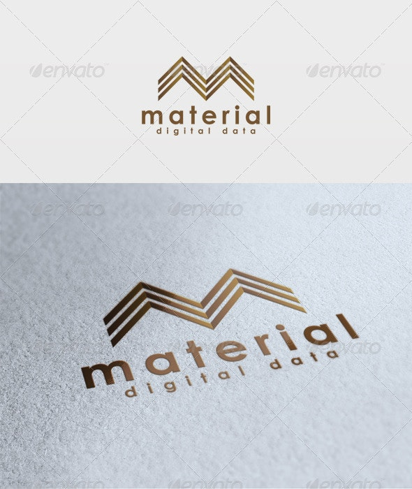 Material Logo - Letters Logo Templates