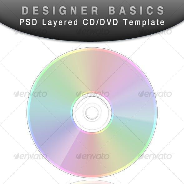 CD - DVD template (Designer Basic)