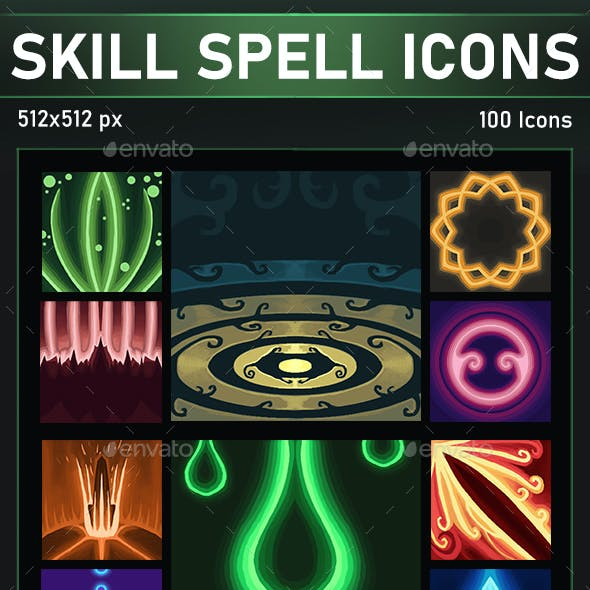 Skill & Spell Icons Pack