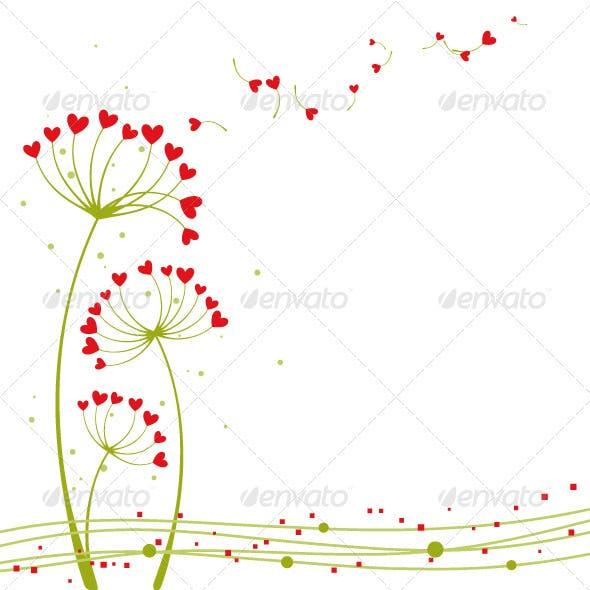 Springtime Love Flower