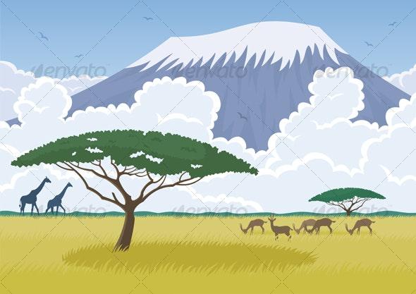 Africa - Travel Conceptual