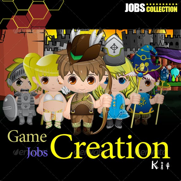 Game Jobs Mascot Creation Kit