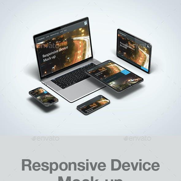 Responsive Device Mock-up