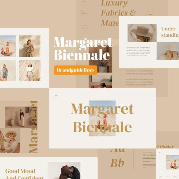 Margaret - Fashion PowerPoint Template