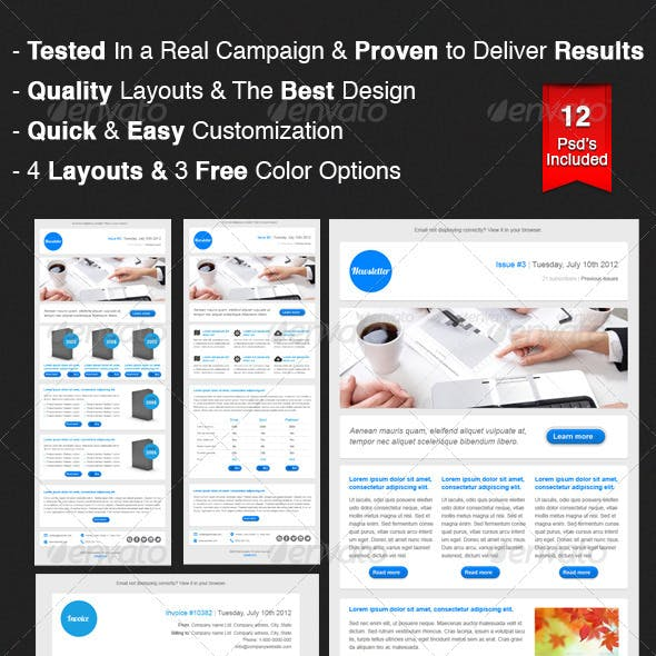 Business Email Campaign & Newsletter